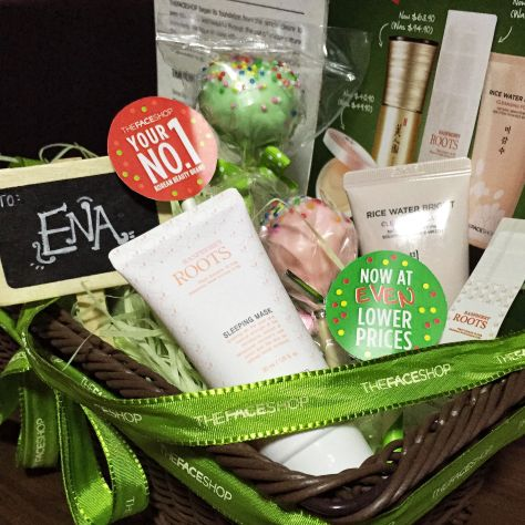 The Face Shop Singapore Lower Prices Blogger Hamper