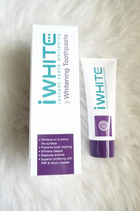 IWhite Mouthwash Toothpaste Whitening Blog Review_0003