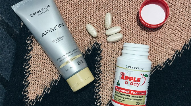 Anti-Oxidants Benefits Featuring Renovatio Supplement & Face Cream