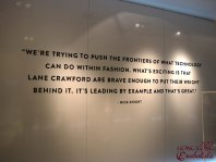 Lane Crawford is leading by example in pushing the frontier of fashion combined with technology!
