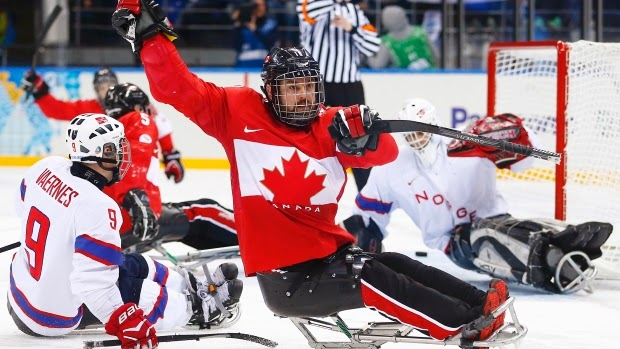 Sochi Paralympics Sledge Hockey