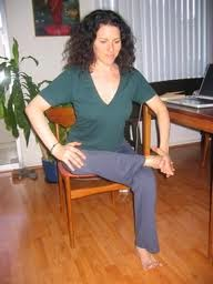 Chair Yoga: Seated Pigeon
