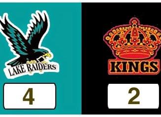 TPWHL Lake Raiders vs Kings