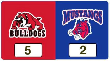 TPWHL Bulldogs vs Mustangs