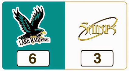 TPWHL Lake Raiders vs Saints
