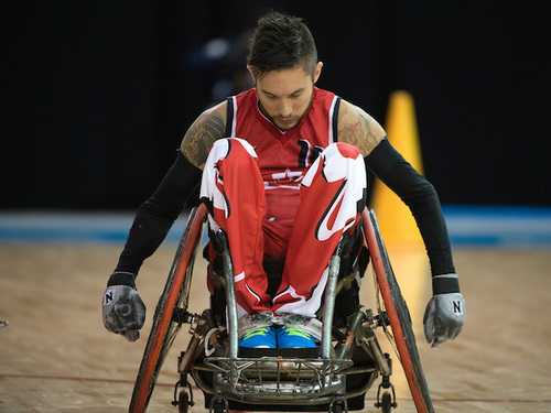 wheelchair rugby trevor hirschfield s arduous road to his first