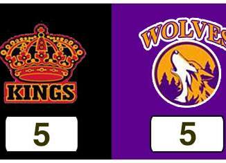 TPWHL Kings vs Wolves