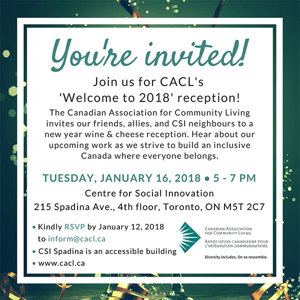 CACL Reception Invitation