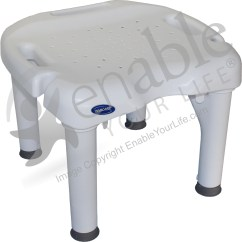 Invacare Shower Chair Wobble I Fit Without Back And 400 Lb Capacity