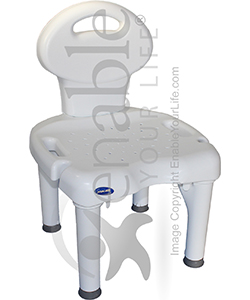 invacare shower chair swivel effect i fit with back and 400 lb capacity