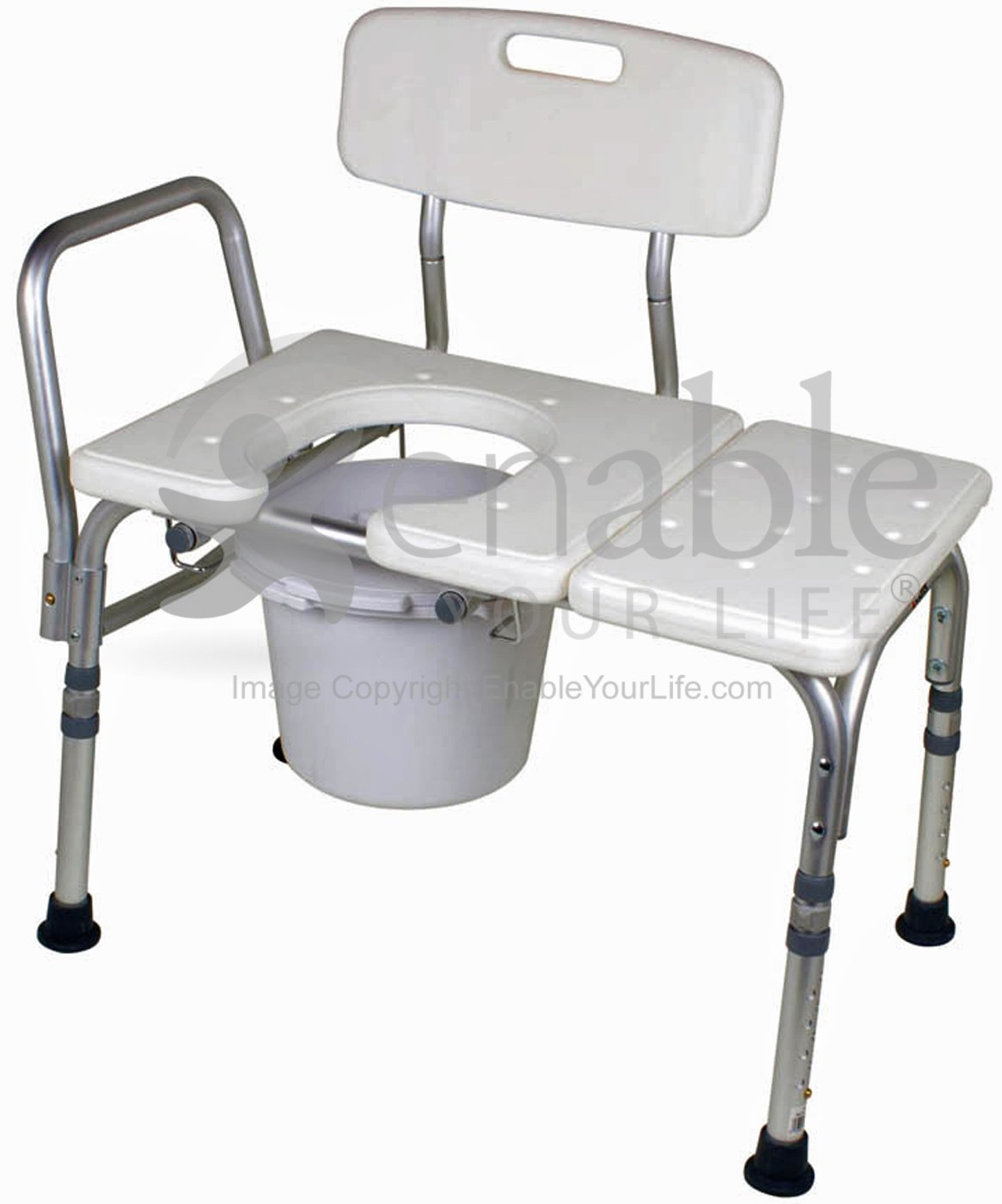 carex transport chair plastic kid chairs bathtub transfer bench with opening bucket