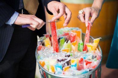 flases, boda, refrescarse, helado, summer wedding, boda verano