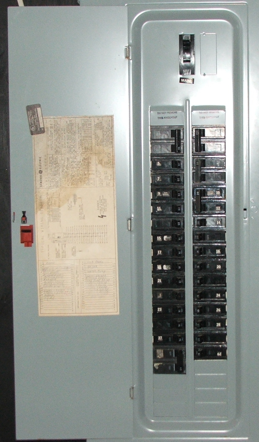 100 Load Center Wiring Diagram Schematic Distribution Board