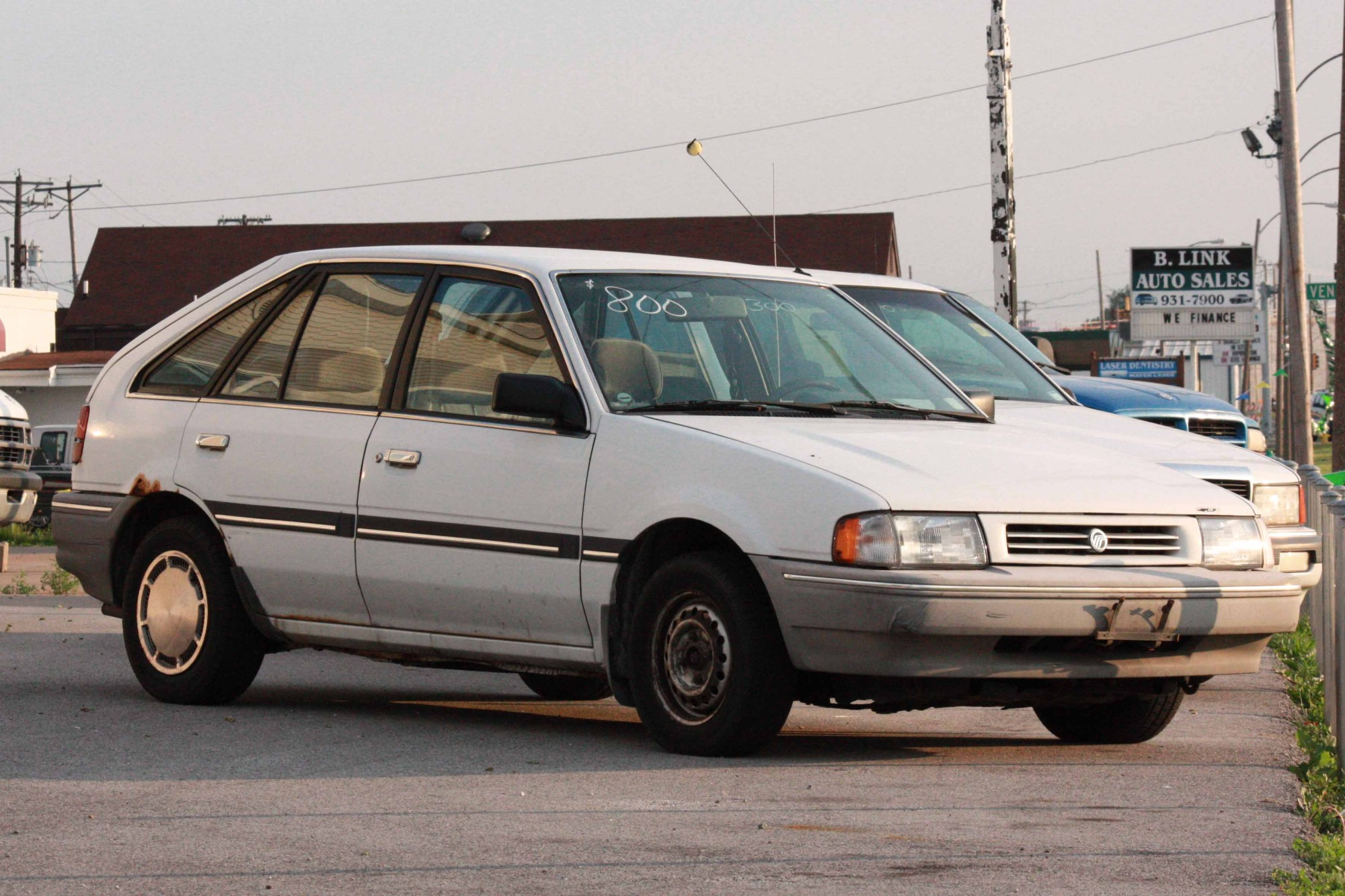hight resolution of ford 1995 mercury tracer