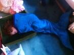 Mermaid Snuggle Bag by Ena Green Designs £45