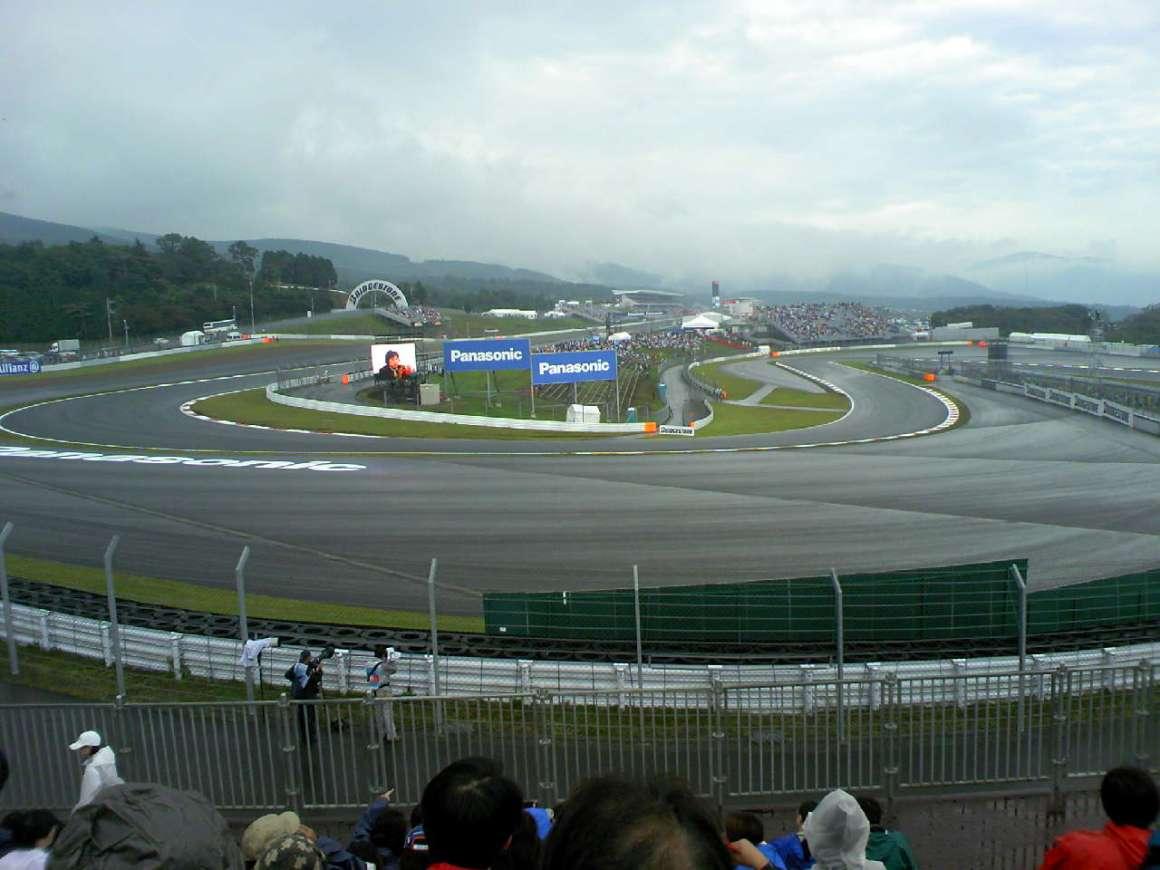 2008 F1 Japanese Grand Prix Free 2nd day