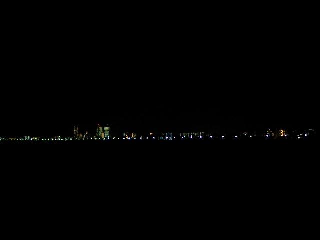 多摩川沿い