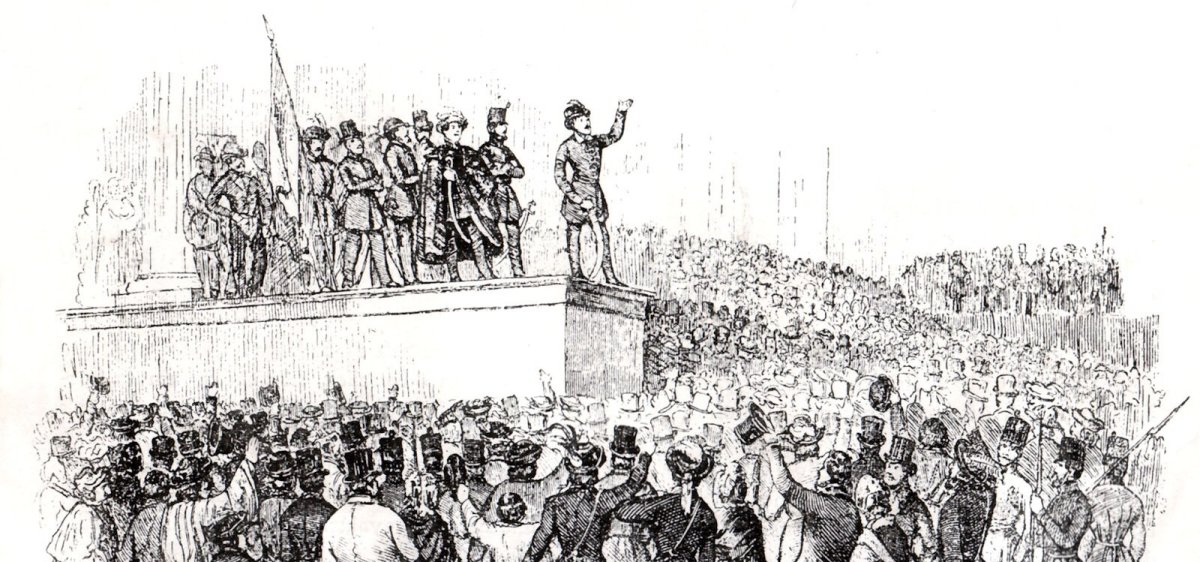 A forradalom legnagyobb szövetségese a szenvedés.