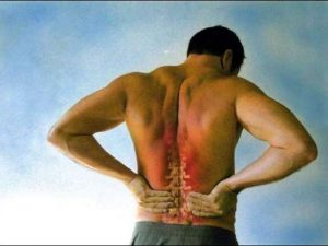 μέση  πόνος σπονδυλική στήλη