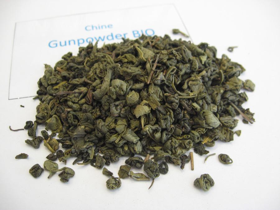 Gunpowder BIO - thé vert de Chine - en aparthé