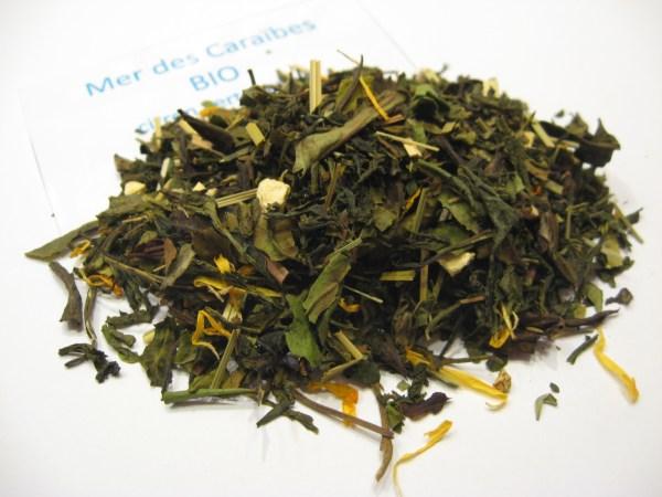 Mer des Caraïbes BIO - thé blanc - en aparthé