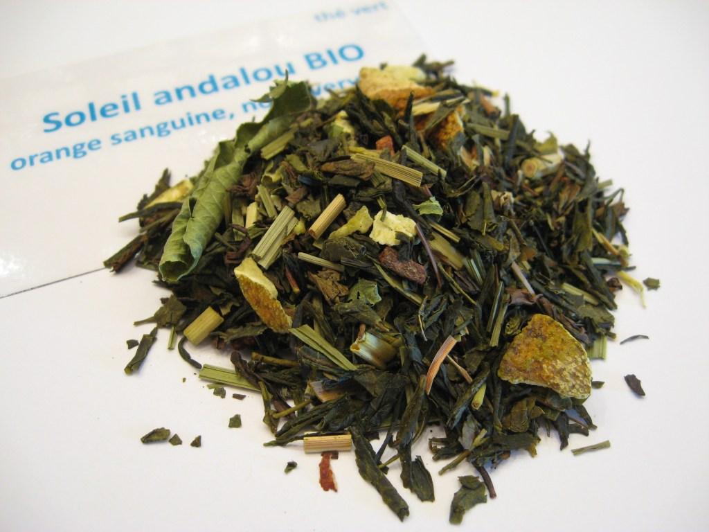 Soleil andalou BIO - thé vert - en aparthé - Boutique en ligne