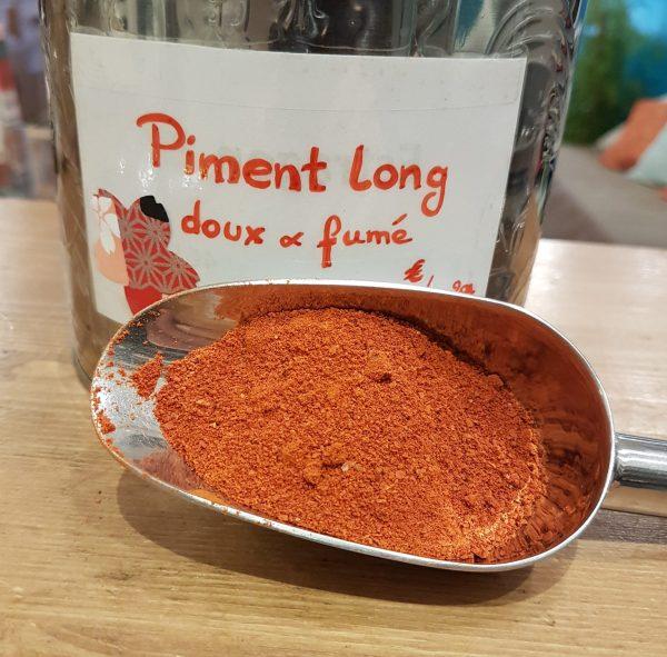 piment long doux fumé - en aparthé Lyon - Boutique en ligne