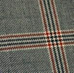 British style pattern wool