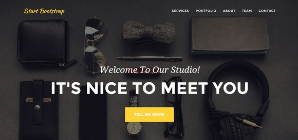 Agency - Free Bootstrap Templates 2014