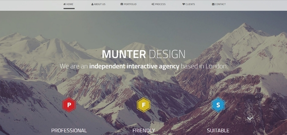 Munter - Best Free Bootstrap Templates 2014