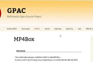 How to install MP4Box on Ubuntu 16.04 15