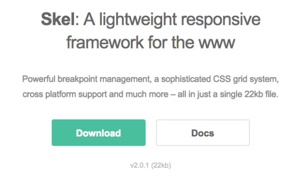 top best javascript frameworks for programmers 2014 - skeljs