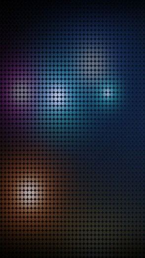 HD Abstract iPhone 5 Wallpaper( Colorful dots)