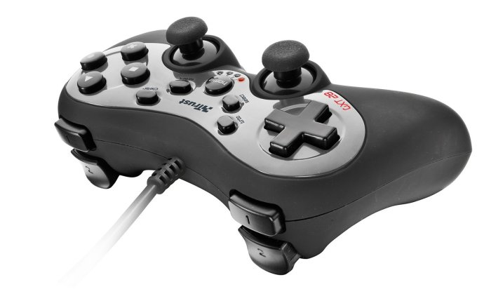Trust GXT 28 gamepad for pc and ps3