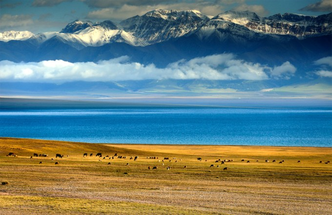 Sayram lake china