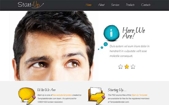 50 free responsive html5 and css3 templates free startup business html5 css3 template cheaphphosting Gallery