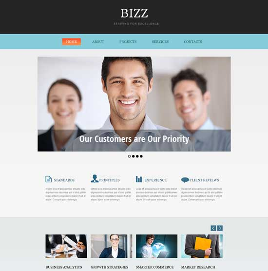 50 free responsive html5 and css3 templates free business consulting html5 css3 templates accmission Choice Image