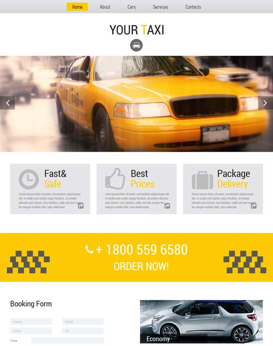 Free-Website-Tempate-for-Taxi-Company