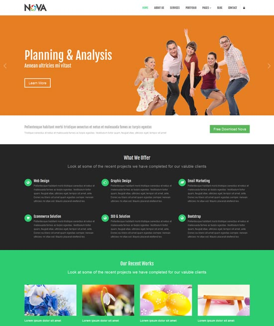 Nova-Free-Multipurpose-Site-Template