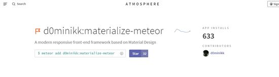 Materialize Meteor