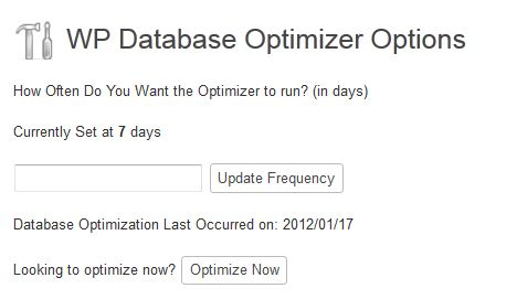 How To Optimize & Cleanup WordPress Database 1