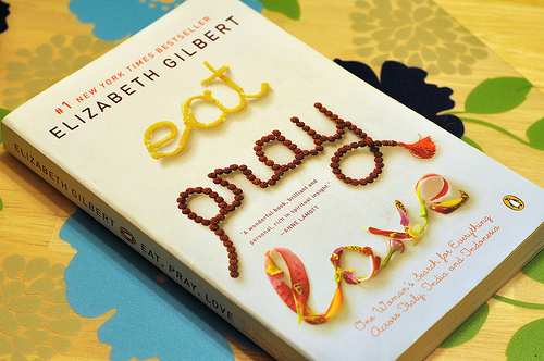 est pray love book to deal with break up