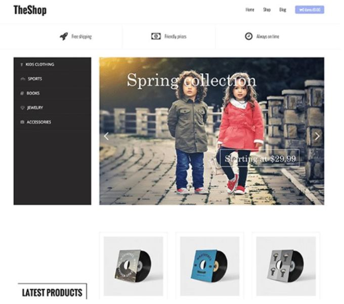 Best Free E-commerce WordPress Themes of 2019 3