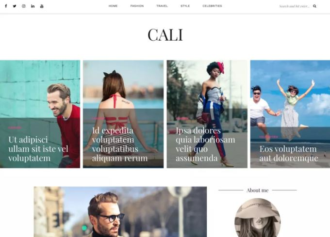 Cali Free WordPress Themes