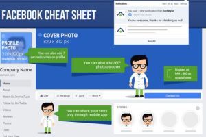 Best Practices for Facebook Image Sizes 2018 - Cheat Sheet 2