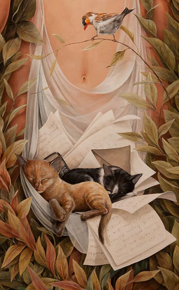 15+ Amazing Collection of Surreal and Beautiful Paintings 16