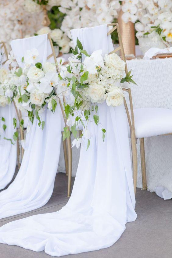 ideas boda color blanco