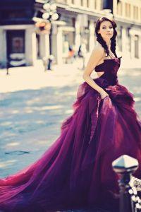 Vestidos de novias en colores