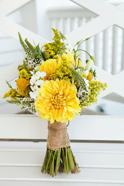 como decorar una boda amarillo