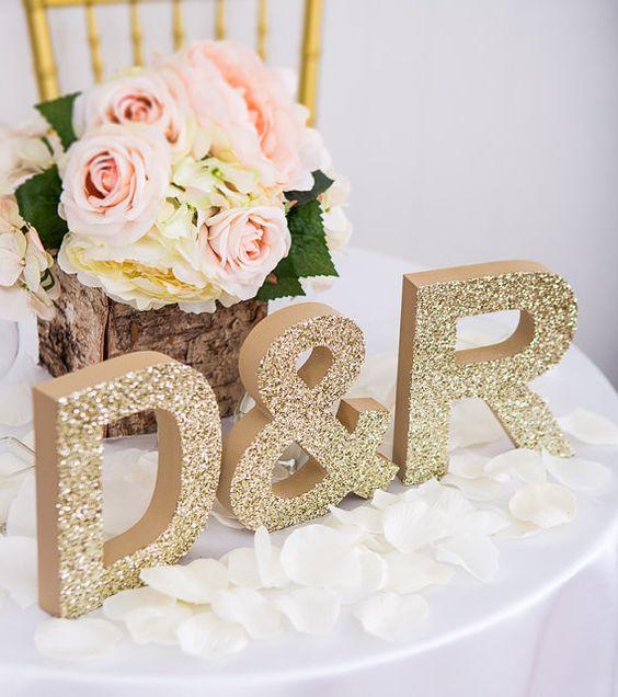 letras para decorar una boda